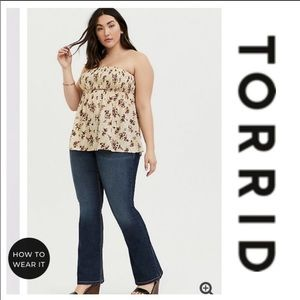 Torrid Bootcut Medium Wash Jeans